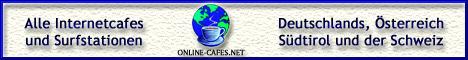 ONLINE-CAFES.NET - Internetcafes suchen und finden